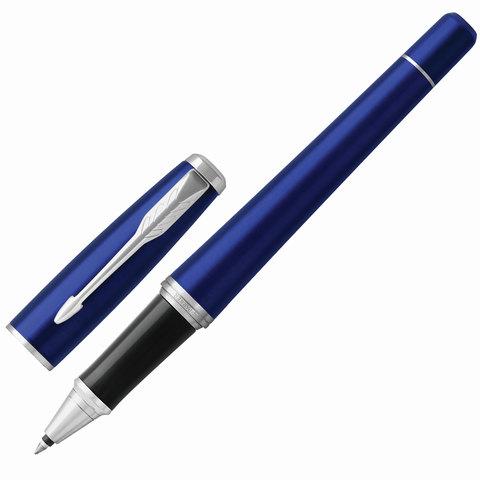 Ручка-роллер подарочная PARKER Urban Core Nightsky Blue CT, темно-син.лак, хром.дет, черная, 1931589  Код: 142580
