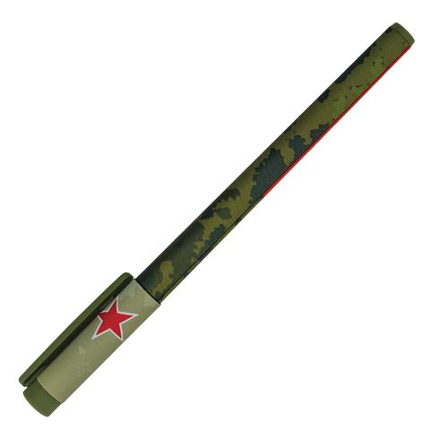 Ручка шариковая BRUNO VISCONTI FunWrite, Милитари, узел 0,5мм, линия 0,3мм, синяя, 20-0212/06  Код: 142881