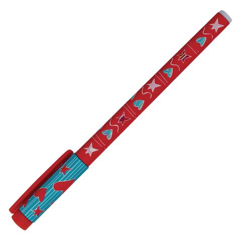 Ручка шариковая BRUNO VISCONTI FunWrite, Сердечки голубые, узел 0,5мм, линия 0,3мм, синяя,20-0212/11  Код: 142885