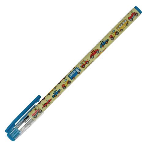 Ручка шариковая BRUNO VISCONTI HappyWrite, Машинки, узел 0,5мм, линия 0,3мм, синяя, 20-0215/01  Код: 142900