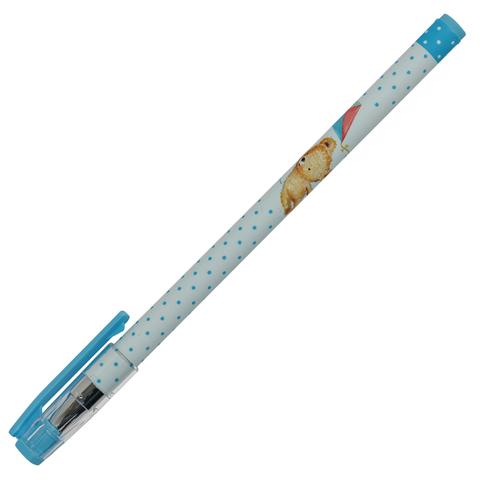 Ручка шариковая BRUNO VISCONTI HappyWrite, Мишка с возд.змеем, 0,5мм, линия 0,3мм, синяя, 20-0215/09  Код: 142905