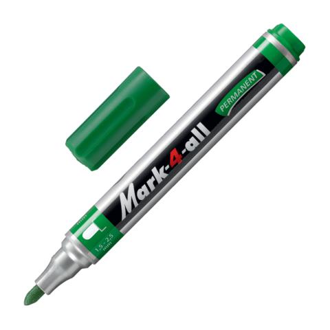 "Маркер перманентный STABILO ""Mark"", пулевидный наконечник 1,5-2,5 мм, 651/36, зеленый  Код: 150927"
