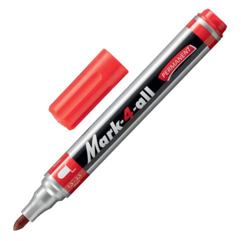 "Маркер перманентный STABILO ""Mark"", пулевидный наконечник 1,5-2,5 мм, 651/40, красный  Код: 150928"