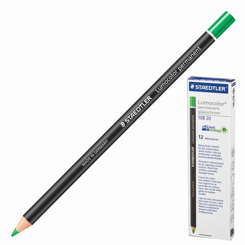 Маркер-карандаш сухой перманентный для любой поверхности, ЗЕЛЕНЫЙ, 4,5мм, STAEDTLER, 108 20-5  Код: 151064