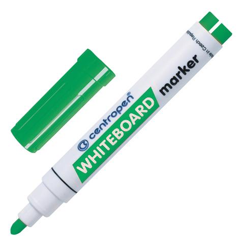 Маркер для доски CENTROPEN, круглый наконечник, 2,5мм, зеленый, 8559/1З  Код: 151112