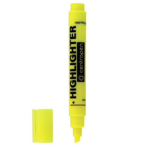 Текстмаркер CENTROPEN, скошенный наконечник 1-4,6 мм, НЕОН желтый, 8852/1Ж  Код: 151116
