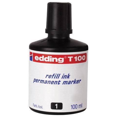 Чернила универсальные EDDING 100, 100 мл, черные, E-T100/1  Код: 151268