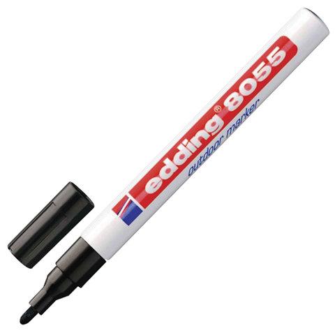 Маркер перманентный влаго-светостойкий для наружных работ EDDING 8055,1-2мм,чер,блистер,E-8055/1-B/1  Код: 151280