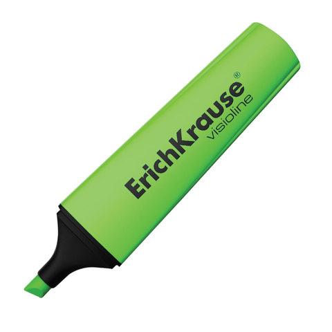 "Текстмаркер ERICH KRAUSE ""Visioline V-12"", скошенный наконечник 0,6-5,2 мм, зеленый, 32497  Код: 151503"