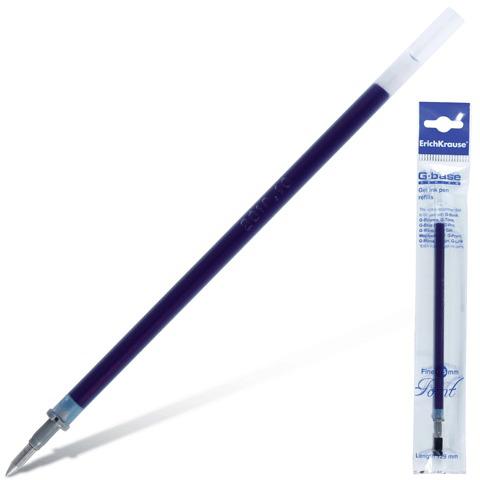 Стержень гелевый ERICH KRAUSE G-Base 129мм, евронаконечник, 0,5мм, линия 0,4мм, синий, 39007  Код: 170181