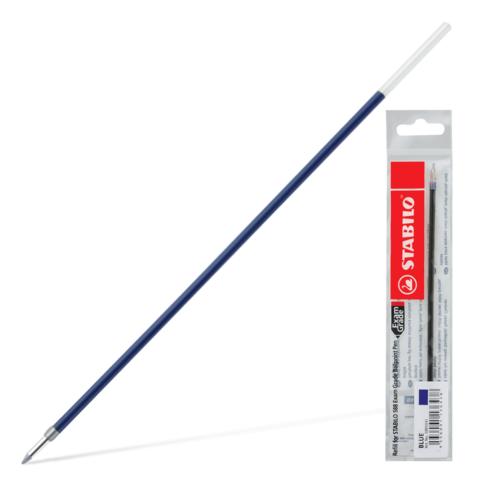Стержень шариковый STABILO Exam Grade 145мм, евронаконечник, 0,8мм, линия 0,4мм, синий, 5880G/41  Код: 170282