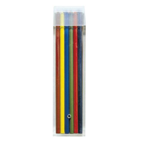 Грифели цветные запасные KOH-I-NOOR, НАБОР 12 шт, для механических карандашей 4012/12, 3,2 мм, 4042  Код: 181078