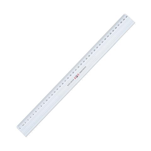 Линейка металлическая 40 см KOH-I-NOOR, с режущей стороной, европодвес, 9103040001TE  Код: 210529