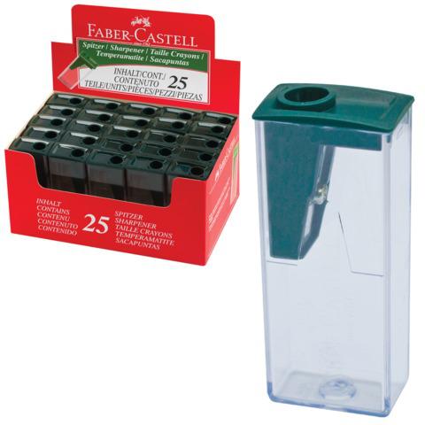 Точилка FABER-CASTELL пластиковая, FCOF124  Код: 221911