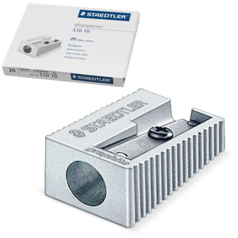 Точилка STAEDTLER (Германия), металлическая клиновидная, 510-10  Код: 224464