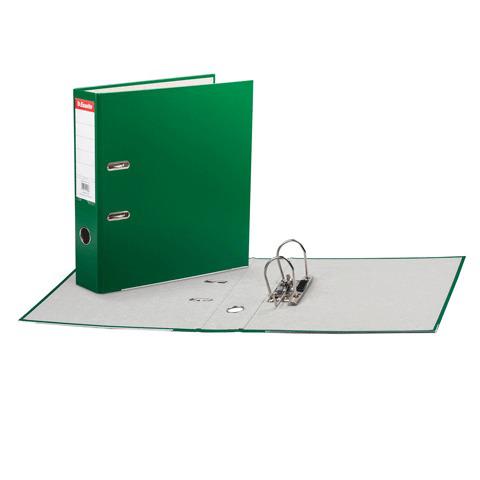 Папка-регистратор ESSELTE Economy, с покрытием из полипропилена, 75 мм, зеленая, 11256P  Код: 224477