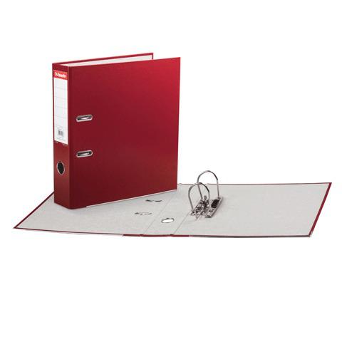 Папка-регистратор ESSELTE Economy, с покрытием из полипропилена, 75 мм, красная, 11253P  Код: 224478