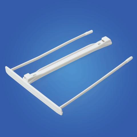 Механизмы для скоросшивания пластиковые FELLOWES (BANKERS BOX), КОМПЛЕКТ 100 шт., белые, FS-0089701  Код: 224537
