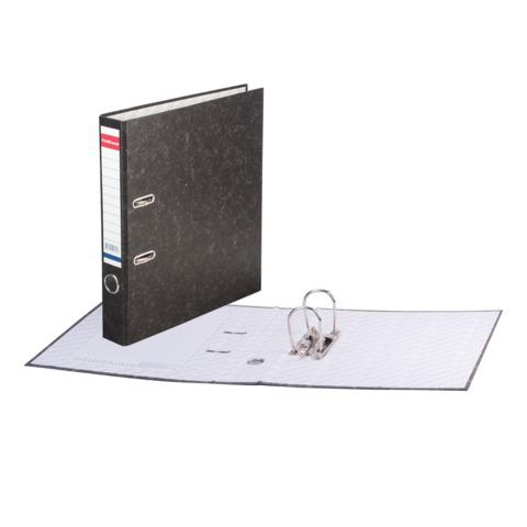 "Папка-регистратор ERICH KRAUSE ""Basic"", с мраморным покрытием, 50мм, без уголка, 70  Код: 225115"