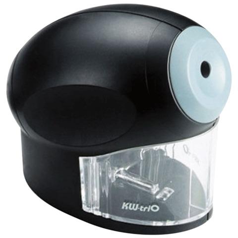Точилка электрическая KW-trio, питание от сети 220В, корпус овальный, цвет черный, 30H2  Код: 225119