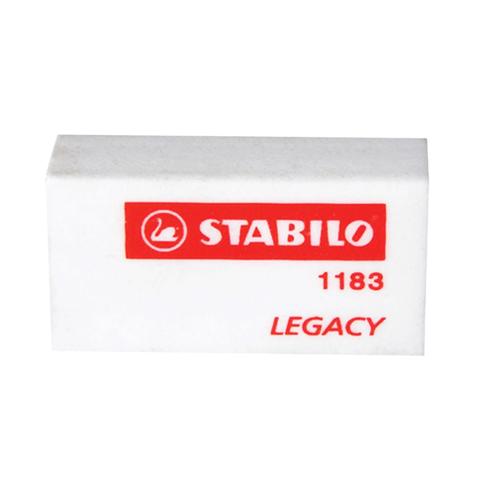 Резинка стирательная STABILO прямоугольная, 35х18х11 мм, белая, 1183/50  Код: 225952
