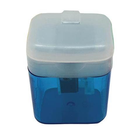 """Точилка STAFF """"OfficeBox"""", с контейнером и крышкой, прямоугольная, тонированный ассорти, 226533  Код: 226533"""