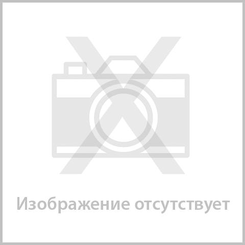 Папка-регистратор с покрытием из полипропилена, 75 мм, ПРОЧНАЯ, с уголком, BRAUBERG, черная, 226595  Код: 226595