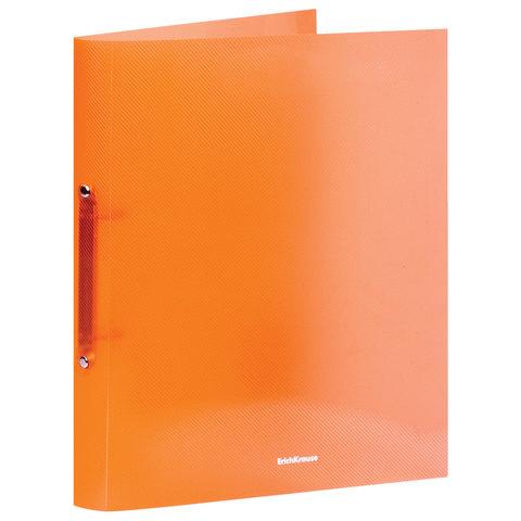 "Папка на 2 кольцах ERICH KRAUSE ""Glance Neon"", 35 мм, до 250 листов, 500 мкм, неон ассорти, 42972  Код: 227700"
