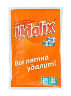 Пятновыводитель-отбеливатель Udalix Oxi ultra (пакетик) 80г  Код: 777105