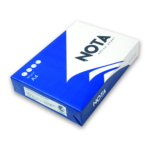 Бумага офисная NOTA А4, «С+», Белизна: 150%, Stora Enso, Финляндия  Код: Nota_A4